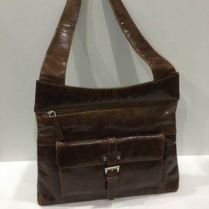 Oran Australia Leather Shoulder Bag Satchel Small